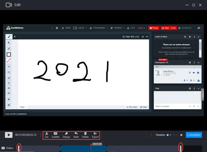RecMaster video edit