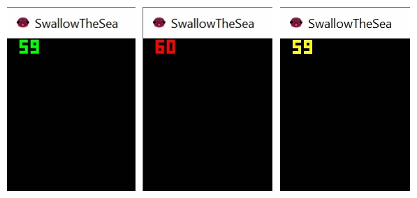 Record Swallow The Sea Gameplay step3