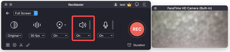 Record the Sound and Screen of Bitwig step4