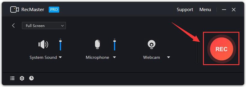 record screen with audio step4