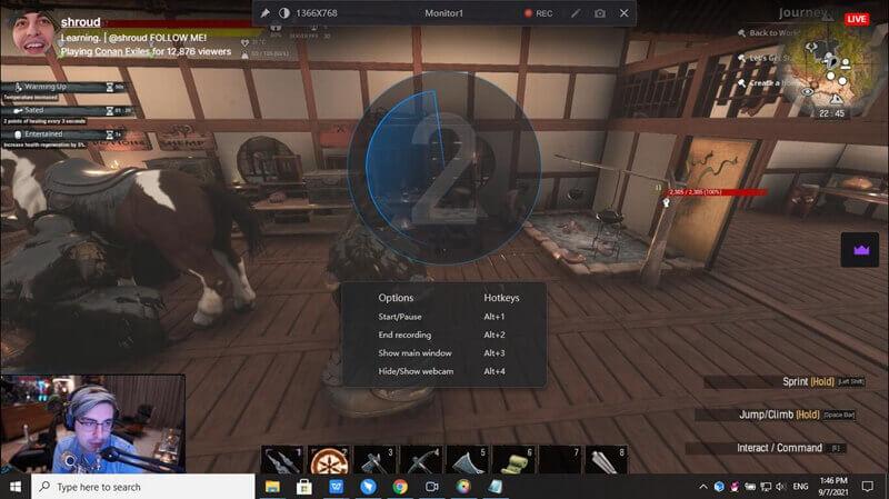 Record a Twitch Stream step3