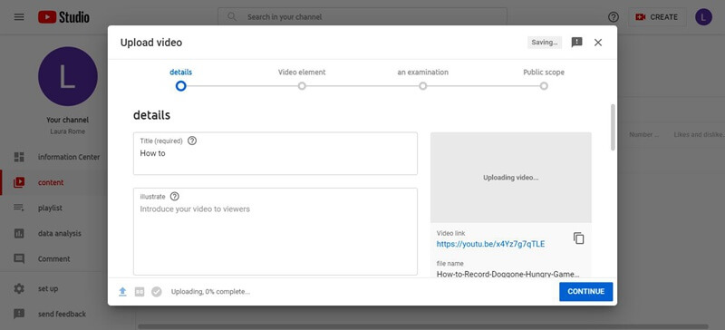 Create YouTube Videos without a Camera upload